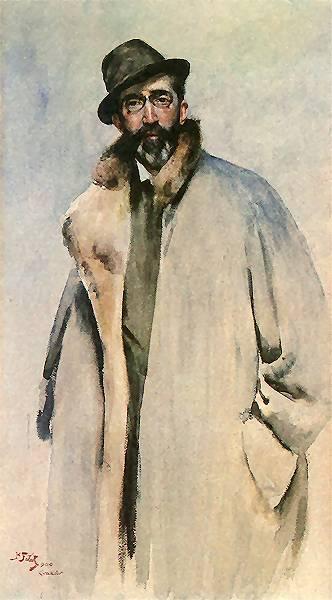 Antoni Wodzicki (Stanisław Fałat, 1900)