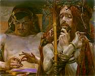 Malczewski's Christ Before Pilate