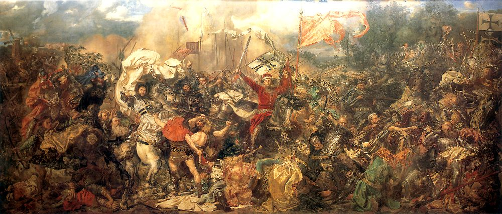 The Battle of Grunwald is a painting by Jan Matejko depicting the Battle of Grunwald and the victory of the allied...