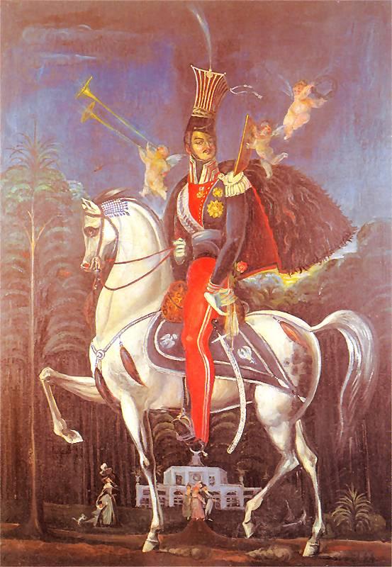 Józef Poniatowski na Koniu Józef Poniatowski na Koniu