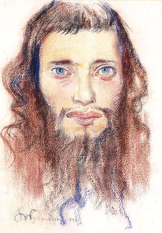 Portrait d'un Juif de Wyspianski.
